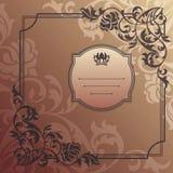 Abstract decoratief frame Royalty-vrije Stock Afbeeldingen