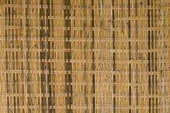 Abstract decoratief houten geweven mandewerk De achtergrond van de mandtextuur Stock Foto's
