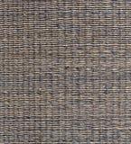 Abstract decoratief houten geweven mandewerk De achtergrond van de mandtextuur Royalty-vrije Stock Fotografie
