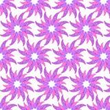 Abstract decoratief naadloos patroon Royalty-vrije Stock Afbeelding