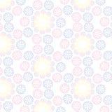 Abstract decoratief patroon Stock Afbeeldingen