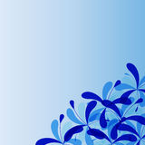 Abstract decoratief patroon Royalty-vrije Stock Afbeelding