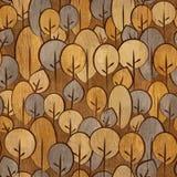 Abstract decoratief patroon - naadloze achtergrond - houten textu Stock Foto's