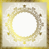 Abstract decoration frame Royalty Free Stock Photography