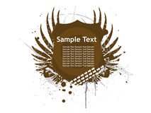 Abstract decoration label Royalty Free Stock Photography