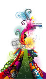 Abstract decoration vector Stock Images