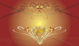 Abstract decorative background for holiday's cards Royalty Free Stock Photography