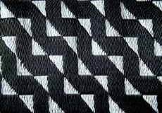 Abstract decorative basket weaving background. Seamless Stock Images