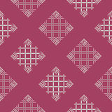 Abstract decorative batik seamless pattern. Abstract square seamless pattern of indonesian batik Royalty Free Stock Photography
