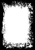Abstract Decorative Black Photo Edge/Overlay for Portrait Photos vector illustration