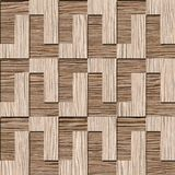 Abstract decorative blocks - Blasted Oak Groove wood texture Royalty Free Stock Image