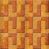 Abstract decorative blocks - Carpathian Elm wood texture. Abstract decorative blocks - seamless background - Fine natural structure - Continuous replication Royalty Free Stock Photo