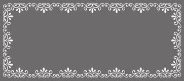 Abstract decorative border Stock Photo
