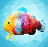 Abstract decorative fish Stock Photos