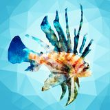 Abstract decorative fish Royalty Free Stock Images