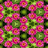 Abstract decorative flower background. Seamless colorful pattern Stock Images