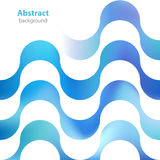 Abstract decorative label - different colors - waves textur Royalty Free Stock Photo