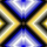 Abstract decorative mosaic pattern Royalty Free Stock Image