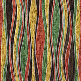 Abstract decorative paneling - seamless background - corrugated Royalty Free Stock Photography