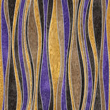 Abstract decorative paneling - seamless background - corrugated Royalty Free Stock Image