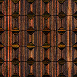 Abstract decorative paneling - seamless background - Ebony wood Royalty Free Stock Images