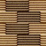 Abstract decorative paneling - seamless background - leather tex Stock Images