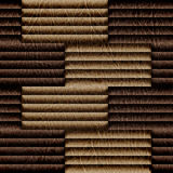 Abstract decorative paneling - seamless background - leatherette Stock Photography