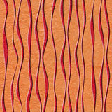 Abstract decorative paneling - seamless background - waves decor - paper texture Stock Images