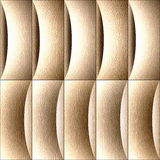 Abstract decorative paneling - seamless background - White Oak. Wood texture Stock Photo