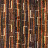Abstract decorative pattern - seamless background - Ebony wood Stock Photo
