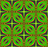 Abstract decorative patterns backgrounds. 3d illustration. Royalty Free Stock Images