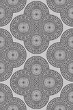 Abstract decorative seamless pattern Royalty Free Stock Images