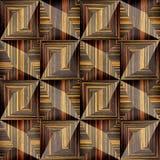 Abstract decorative texture - seamless background - Ebony wood Stock Photography