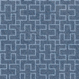 Abstract decorative texture - seamless pattern, blue jeans cloth Stock Photography