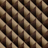 Abstract decorative tiles - seamless background - leather textur Royalty Free Stock Photos