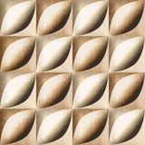 Abstract decorative tiles - seamless background - White Oak wood Royalty Free Stock Photography