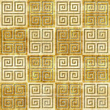 Abstract decorative tiles - seamless pattern - papyrus texture Stock Images