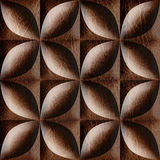 Abstract decorative tiles stacked for seamless background Stock Photo