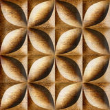 Abstract decorative tiles stacked for seamless background Stock Photos