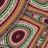Abstract decorative tribal texture Stock Images