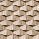 Abstract decorative wall - seamless background - Blasted Oak Royalty Free Stock Photo