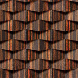 Abstract decorative wall - seamless background - Ebony wood Royalty Free Stock Photo