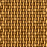 Abstract decorative wooden striped textured basket weaving background. Royalty Free Stock Photography