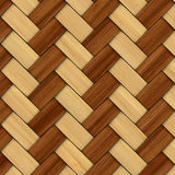 Abstract decorative wooden textured basket weaving Royalty Free Stock Image