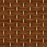 Abstract decorative wooden textured basket weaving Royalty Free Stock Images