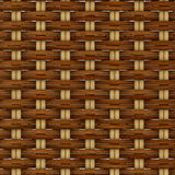 Abstract decorative wooden textured basket weaving Stock Photo