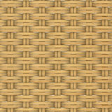 Abstract decorative wooden textured basket weaving Stock Images
