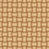 Abstract decorative wooden textured basket weaving Stock Photography