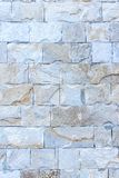 Abstract deel van een oude omheining van steen Stock Foto