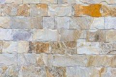 Abstract deel van een oude omheining van steen Stock Afbeeldingen